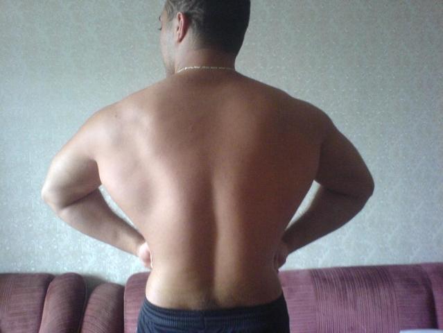 Еще одна фотка спины